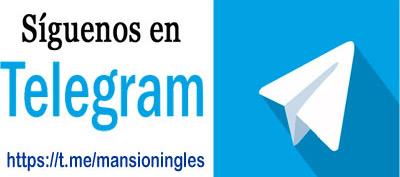 Telegram de La Mansión del Inglés