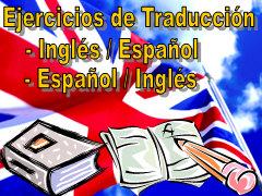Ejercicios de traducción
